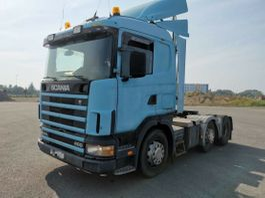 standaard trekker Scania 124 400/360.retarder Ac klima 6x2.Manual.In Top 1999