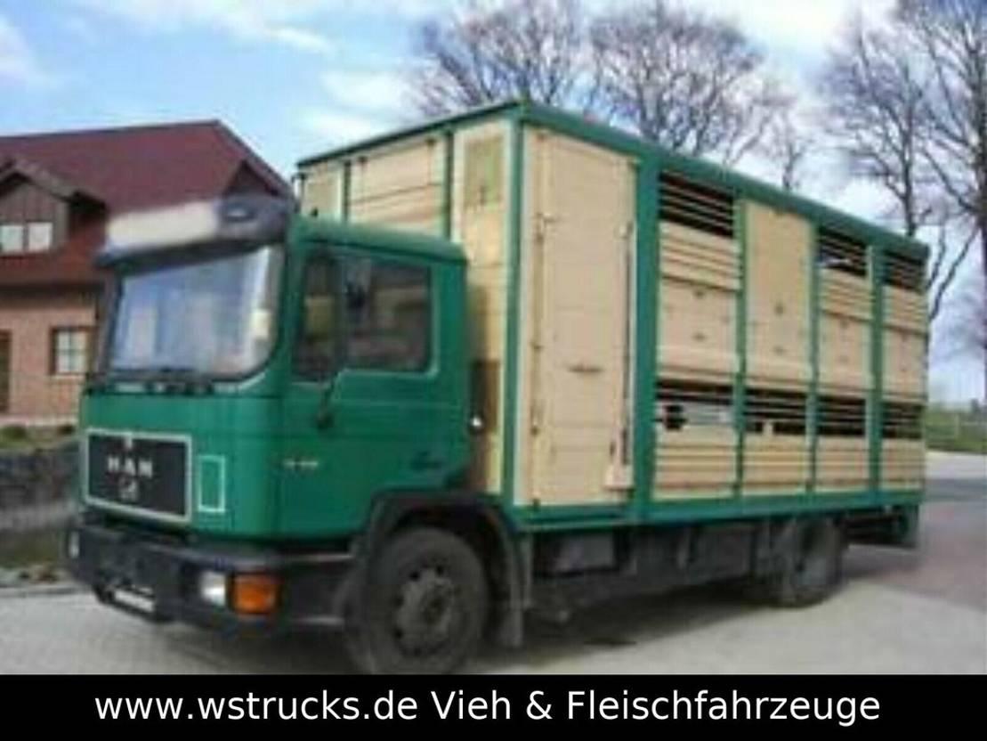 paardenvrachtwagen MAN 14232 KABA Doppelstock 1993