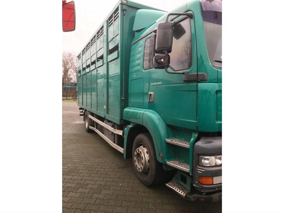 paardenvrachtwagen MAN TGA 18.310 FG / LL 2003