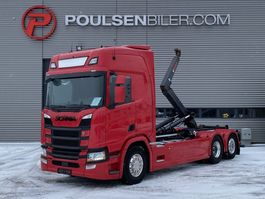 containersysteem vrachtwagen Scania R500 Hiab Hooklift 2017