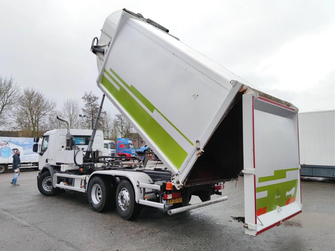 chassis cabine vrachtwagen Volvo FE 280 6x2/4 Dagcabine Euro5 - Schorling Zij lader / Kipper - 149.000km! (V348) 2009