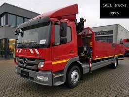 kraanwagen Mercedes-Benz Atego 1224 / HIAB / Laderaumlänge: 6,9 m