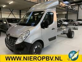 open laadbak bedrijfswagen Renault master l4 chas cab airco navi 165pk nieuw 2020