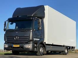 bakwagen vrachtwagen Mercedes-Benz ATEGO 1018L.   Aut.  EURO6.  160291km!  700x248x245 Bakwagen met Laadklep 2013