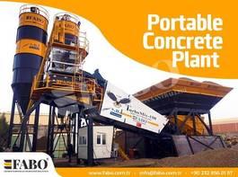 betonmixinstallatie FABO TURBOMİX 100 CE QUALITY NEW GENERATION MOBILE CONCRETE MIXING PLANT