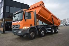 kipper vrachtwagen > 7.5 t Mercedes-Benz Actros 3241 MP3 Actros * 3241 * 8x4 *3 Pedal * Euro5 * Full Steel 2012