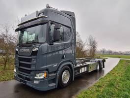 bakwagen vrachtwagen Scania R650-V8 R650 B6X2NB BDF Chassis 2018