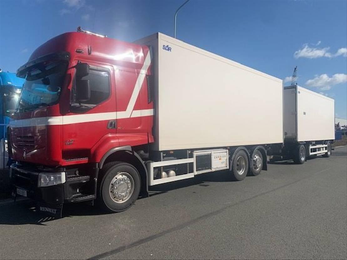 koelwagen vrachtwagen Renault Premium 450 6x2 2009