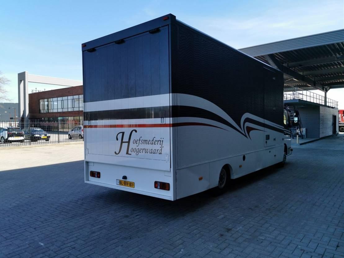 paardenvrachtwagen Mercedes-Benz Atego 818 4x2 Horsetransport! 2001