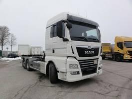 chassis cabine vrachtwagen MAN TGX 26.460 6x2-4 LL XLX Lenkachse Intarder 2018