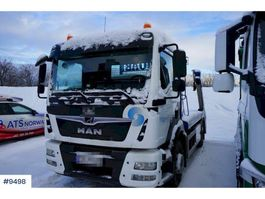 containersysteem vrachtwagen MAN TGM with JOAB build with low KM 2020