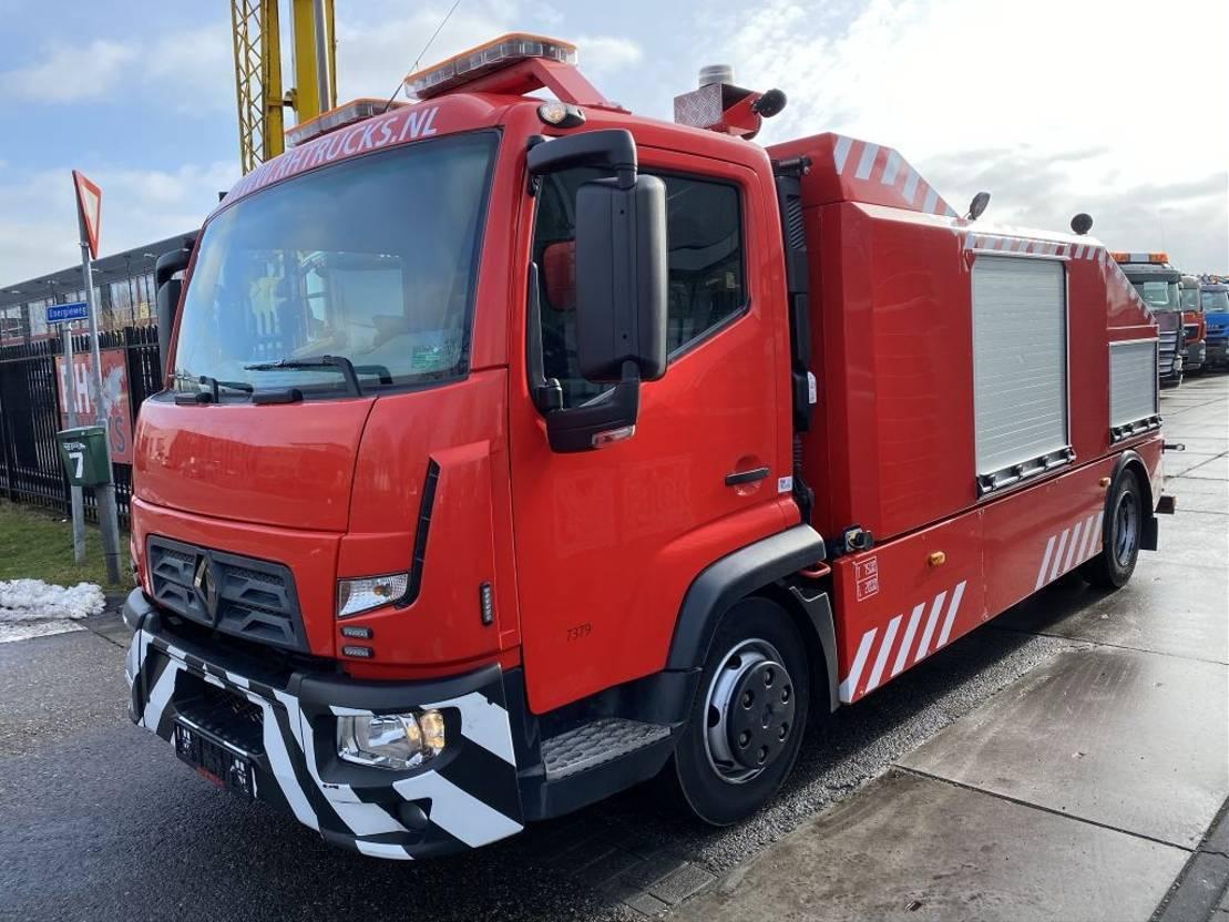 takelwagen-bergingswagen-vrachtwagen Renault D180 EURO 6 + OMARS S3TZ-006 MET REMOTE 2015