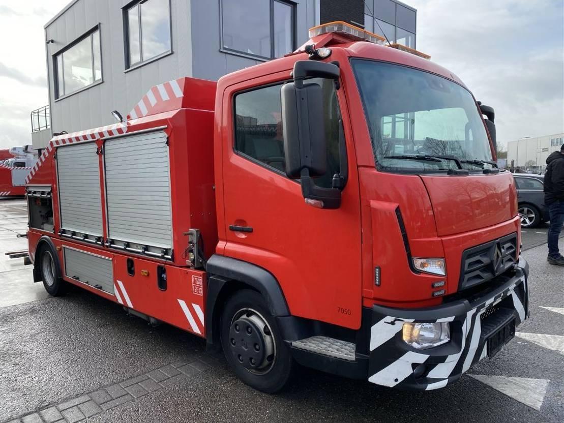 takelwagen-bergingswagen-vrachtwagen Renault D180 EURO 6 + OMARS S3TZFLK-002 MET REMOTE 2016