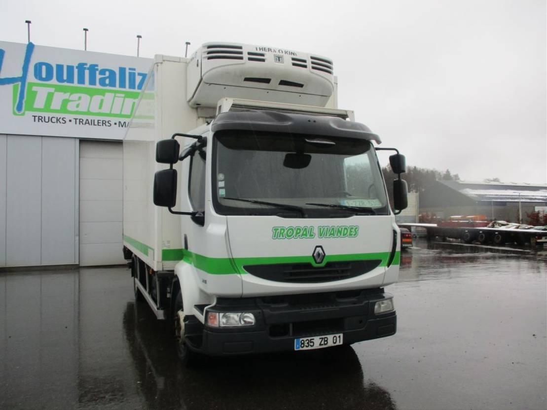 koelwagen vrachtwagen Renault Midlum 280 dxi - meat transport - Thermoking - diesel/elec - Manual gearbox 2008