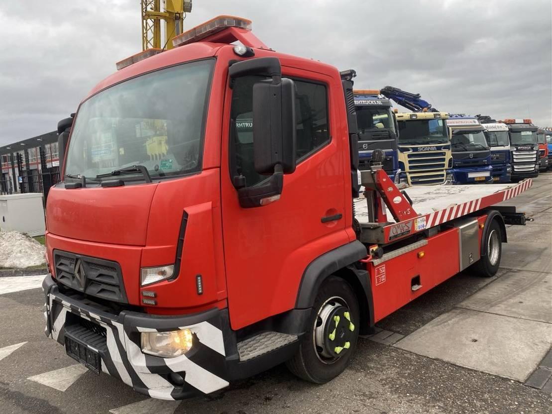 autotransporter vrachtwagen Renault D180 EURO 6 + OMARS S2000 SL-031 MET REMOTE 2015