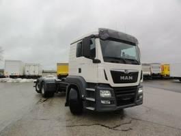 chassis cabine vrachtwagen MAN TGS 26.460 6x2-4LL Lenkachse Intarder Nebenantr. 2018