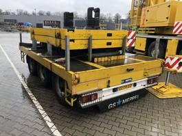 platte aanhangwagen GS Meppel Ballast Plattform | Trailer | 3 Axle Tandem | AN-2400 2006