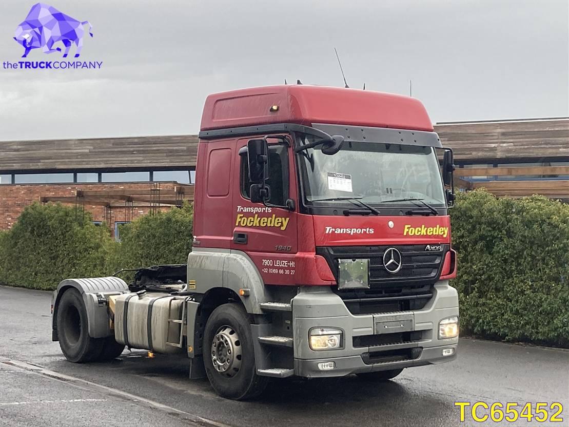 gevaarlijke stoffen trekker Mercedes-Benz Axor 1840 Euro 5 2008