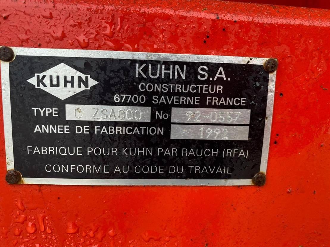 kunstmeststrooier Kuhn Getrokken strooier 1000 liter 1992