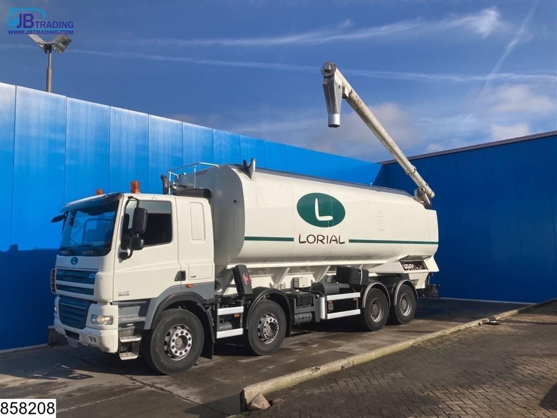 silo vrachtwagen DAF CF 410 85 8x4, EURO 5, Silo / Bulk, Manual, Retarder 2009