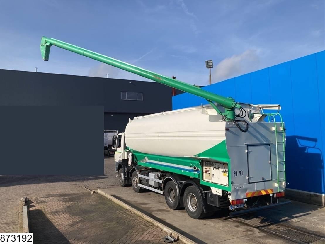 silo vrachtwagen DAF CF 410 85 8x4, EURO 5, Silo / Bulk, Retarder 2010