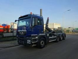 containersysteem vrachtwagen MAN TGS 35 .440 8X4 TRIDEM / WAF HAAKSYSTEEM 25 TONS / LOW KM !! 2012