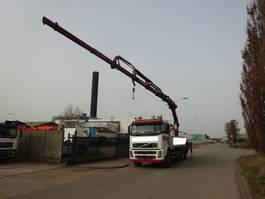 open laadbak vrachtwagen Volvo FH 12 380 6X4 + HIAB 288 E-5 HIPRO / MANUAL GEARBOX !! 2004