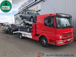 autotransporter vrachtwagen Mercedes-Benz 823 Mersch Doppelstock 4 PKW /3 Transporter 1.Hd 2007