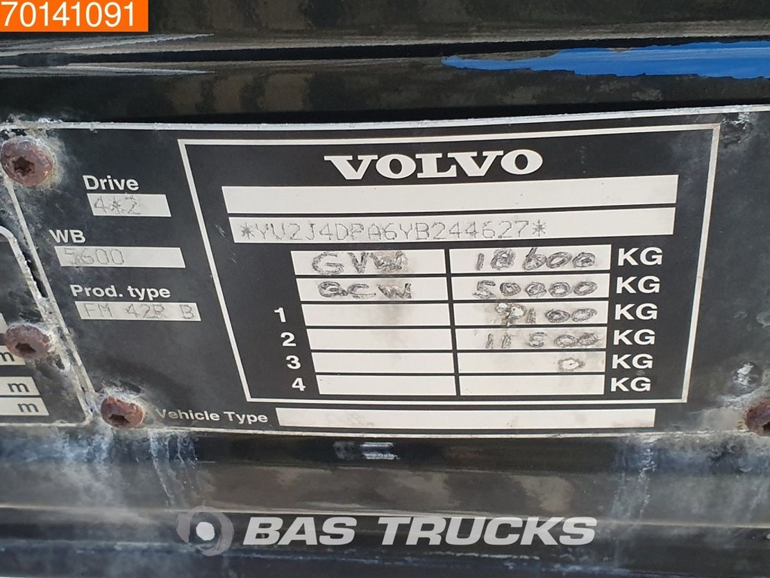 paardenvrachtwagen Volvo FM12-340 4X2 NL-Truck Manual Euro 2 2000