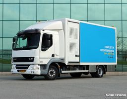 bakwagen vrachtwagen DAF LF 45 180 EURO 5 EEV BLATT BLATT MOBILE WERKSTATT 237177KM 2012