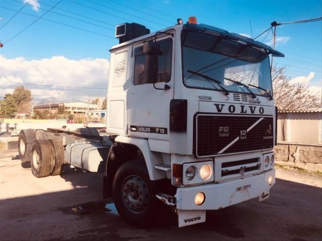 chassis cabine vrachtwagen Volvo F 12 F12 1979