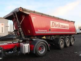 kipper oplegger Schmitz Cargobull SKI 24 25 m³ Alu Thermo / Asphalt Cramaro 2017