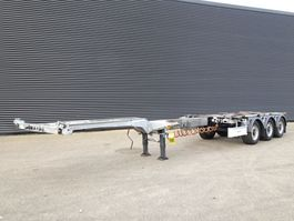 container chassis oplegger Fliegl SDS420 VARIO / 3 AXLE / EXTENDABLE 2015