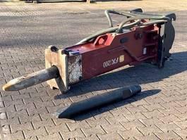 breker en hamer Hydraram FX-200 | 1600KG | 16 ~ 25 Ton | Hammer Sloophamer 2020
