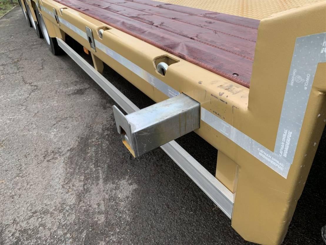 semi dieplader oplegger Kässbohrer Ayhan Ünsal 3 as semi low boy dieplader trailer 57 ton UNS3 2021