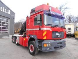 kraanwagen MAN 33.464, 6X4, 2002