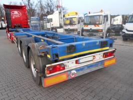 wissellaadbaksysteem oplegger Schmitz Cargobull SCS Continer Chasis, wechselbrucke 2000