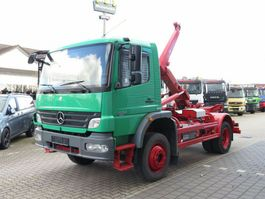 containersysteem vrachtwagen Mercedes-Benz Atego 1524 AK 4x4 Abrollkipper Meiller 2009