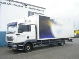 bakwagen vrachtwagen MAN TGL 12 BL Standardkoffer 2005