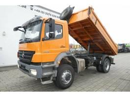 kipper vrachtwagen > 7.5 t Mercedes-Benz Axor 1829 AK 4x4 2-Achs Allradkipper 1. Hand -Ge 2009