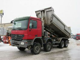 kipper vrachtwagen > 7.5 t Mercedes-Benz Actros 4144 AK 8x8 4 Achs Muldenkipper Meiller 2008