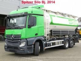 kolkenzuiger vrachtwagen Mercedes-Benz Actros 2545 neu L 6x2 Silo 4 Kammern/31.000 ltr 2014