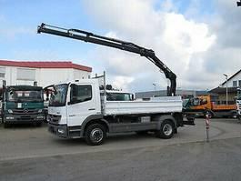 kipper vrachtwagen > 7.5 t Mercedes-Benz Atego 1224 2-Achs Kipper Heckkran Hiab 077 BS-2 2014
