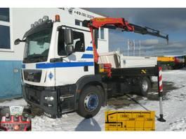 kipper vrachtwagen > 7.5 t MAN TGM 18.340 4x2 2-Achs Kipper Kran 3x-hydr. +Fu 2015
