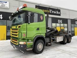 containersysteem vrachtwagen Scania R 16 C-6X4 2006