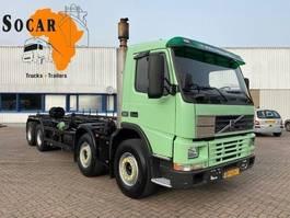 chassis cabine vrachtwagen Volvo FM12-380 8X4 FULL STEEL MANUAL-GEAR (EURO2) 2000