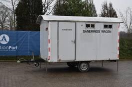 sanitair aanhangwagen Bohmer Decu Unit BPWA 2000 2000