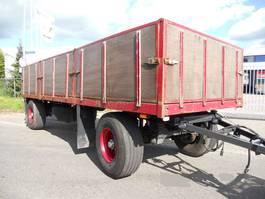 open laadbak aanhanger Floor 2 As FLA-10-101 Vrachtwagen Aanhangwagen Open, WJ-46-JB 1992