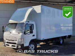 bakwagen vrachtwagen Mitsubishi Canter Fuso 7C18 4X2 Manual Ladebordwand Steelsuspension Euro 6 2017