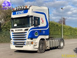 standaard trekker Scania R 520 Euro 6 RETARDER 2014